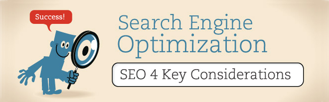 SEO Success: 4 Key Considerations