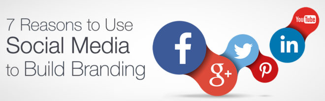 Reasons To Use Social Media For Business Branding Graphic