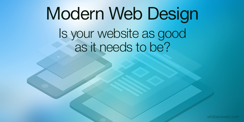 Modern Web Design, It's All About Mobile