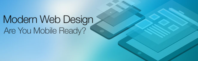 Modern Web Design Graphic