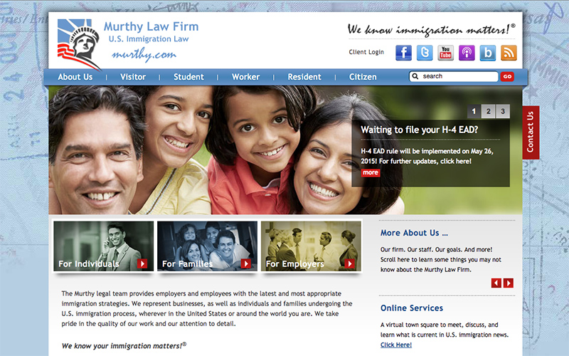 Best Law Firm Websites, Murphy Law Firm