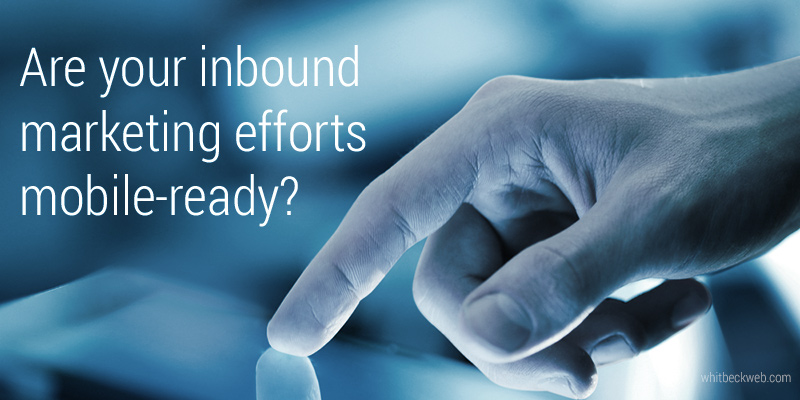 mobile ready inbound marketing graphic