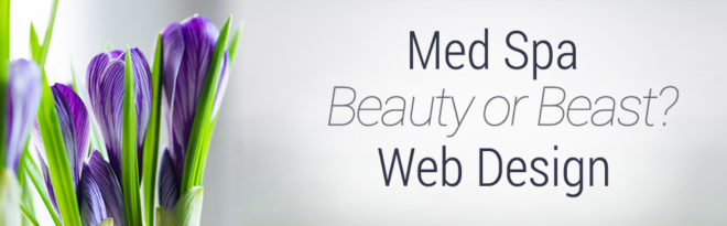 Med Spa Website Design Graphic