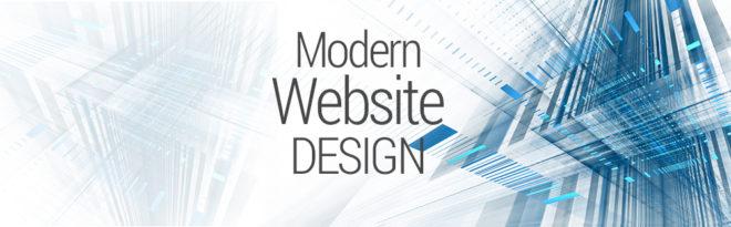 Modern Website Design Graphic