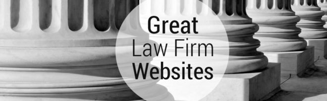 Great Law Firm Websites Graphic