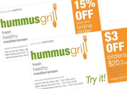 Graphic Design For Coupons